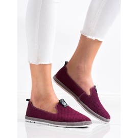 Filippo Casual Leather Slipons red 2
