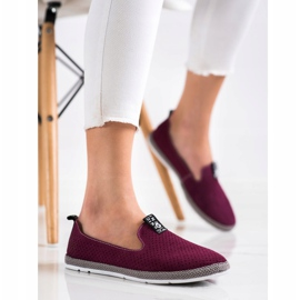 Filippo Casual Leather Slipons red 3