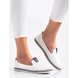 Filippo Casual Leather Slipons white 4