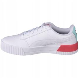 Puma Carina L Jr 370677 23 shoes white black 1