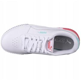 Puma Carina L Jr 370677 23 shoes white black 2