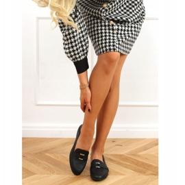Black women's loafers 4585 Black 3