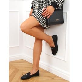 Black women's loafers 4585 Black 2