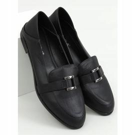Black women's loafers 4585 Black 1