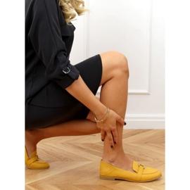 Women's honey loafers 4585 Yellow 2