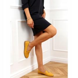 Women's honey loafers 4585 Yellow 3