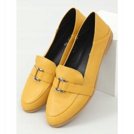 Women's honey loafers 4585 Yellow 1