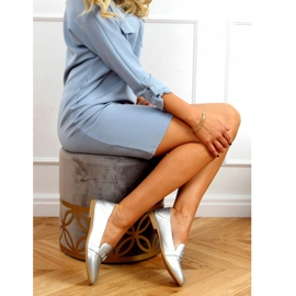 Silver Women's loafers 4585 Silver 3