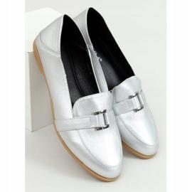 Silver Women's loafers 4585 Silver 1