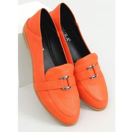 Orange women's loafers 4585 Orange 1