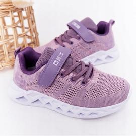 Children's Sport Shoes Sneakers Big Star HH374183 Violet 2