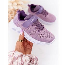 Children's Sport Shoes Sneakers Big Star HH374183 Violet 3