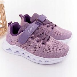 Children's Sport Shoes Sneakers Big Star HH374183 Violet 1
