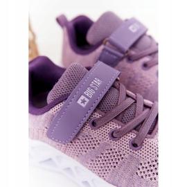Children's Sport Shoes Sneakers Big Star HH374183 Violet 4