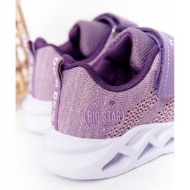 Children's Sport Shoes Sneakers Big Star HH374183 Violet 6