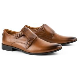 Lukas Leather formal shoes Monki 287LU light brown 4