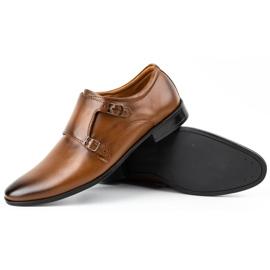Lukas Leather formal shoes Monki 287LU light brown 5