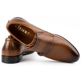 Lukas Leather formal shoes Monki 287LU light brown 6