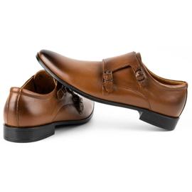Lukas Leather formal shoes Monki 287LU light brown 7