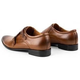 Lukas Leather formal shoes Monki 287LU light brown 8
