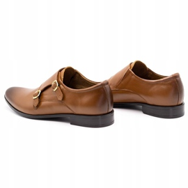 Lukas Leather formal shoes Monki 287LU light brown 9