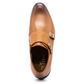 Lukas Leather formal shoes Monki 287LU light brown 10