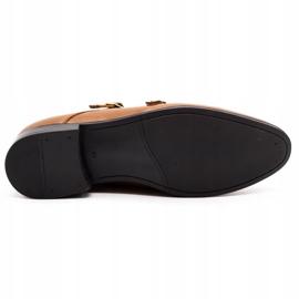 Lukas Leather formal shoes Monki 287LU light brown 1