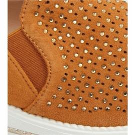 Shoes openwork camel 918-15 Camel brown 1