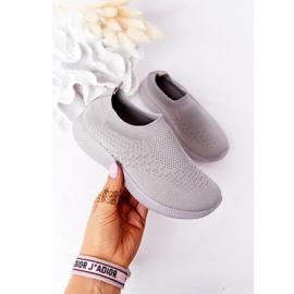 EVE Children's Sport Shoes Slip-On Gray School Trip grey 2
