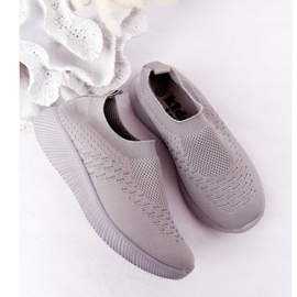 EVE Children's Sport Shoes Slip-On Gray School Trip grey 1