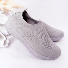 EVE Children's Sport Shoes Slip-On Gray School Trip grey 4