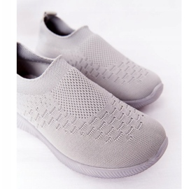 EVE Children's Sport Shoes Slip-On Gray School Trip grey 5