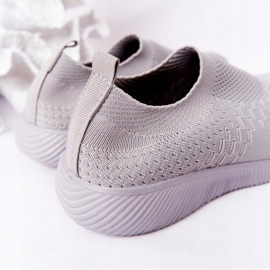 EVE Children's Sport Shoes Slip-On Gray School Trip grey 6