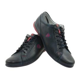 Joker Men's casual shoes 295 navy blue red 6