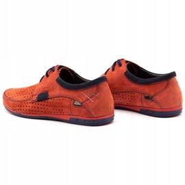Mario Pala Men's openwork shoes 563 red 8