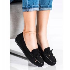 Super Me Suede loafers black 1