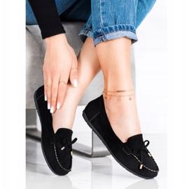 Super Me Suede loafers black 3