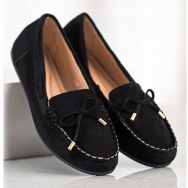Super Me Suede loafers black 2