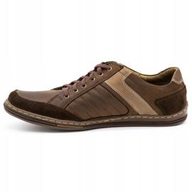 Olivier leather men's shoes 236GT brown 2