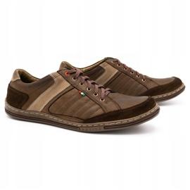 Olivier leather men's shoes 236GT brown 3