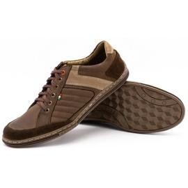 Olivier leather men's shoes 236GT brown 4