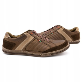 Olivier leather men's shoes 236GT brown 6