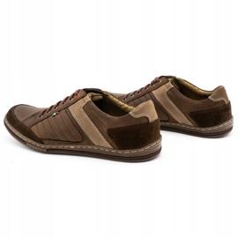 Olivier leather men's shoes 236GT brown 8