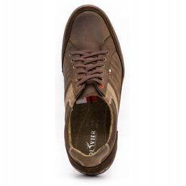 Olivier leather men's shoes 236GT brown 9