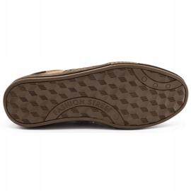 Olivier leather men's shoes 236GT brown 1
