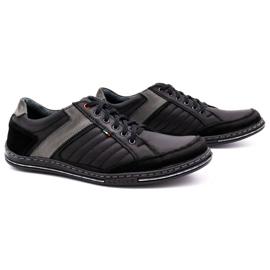 Olivier leather men's shoes 236GT black 3