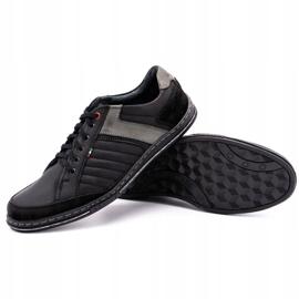 Olivier leather men's shoes 236GT black 4