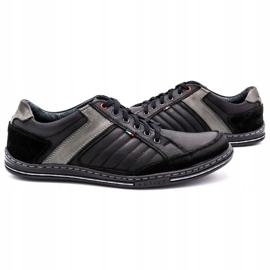 Olivier leather men's shoes 236GT black 6
