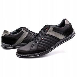 Olivier leather men's shoes 236GT black 7