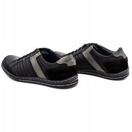 Olivier leather men's shoes 236GT black 8